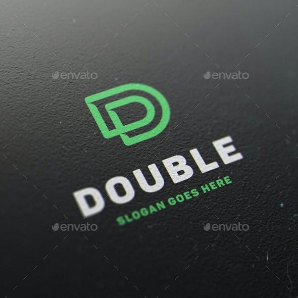 Double • Letter D Logo Template