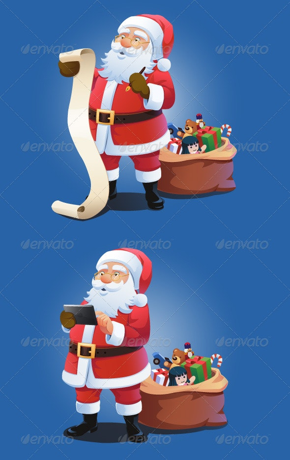 Santa Make a List - Christmas Seasons/Holidays