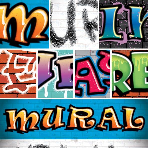 Graffiti Text Styles 2