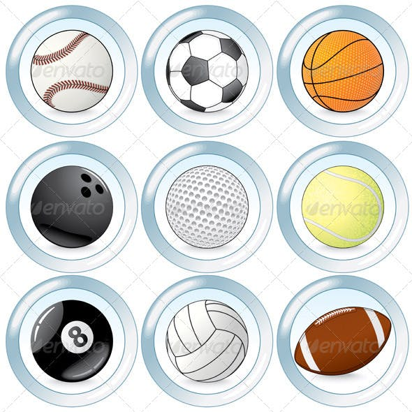 Sport Buttons