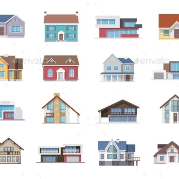 House Icons Flat