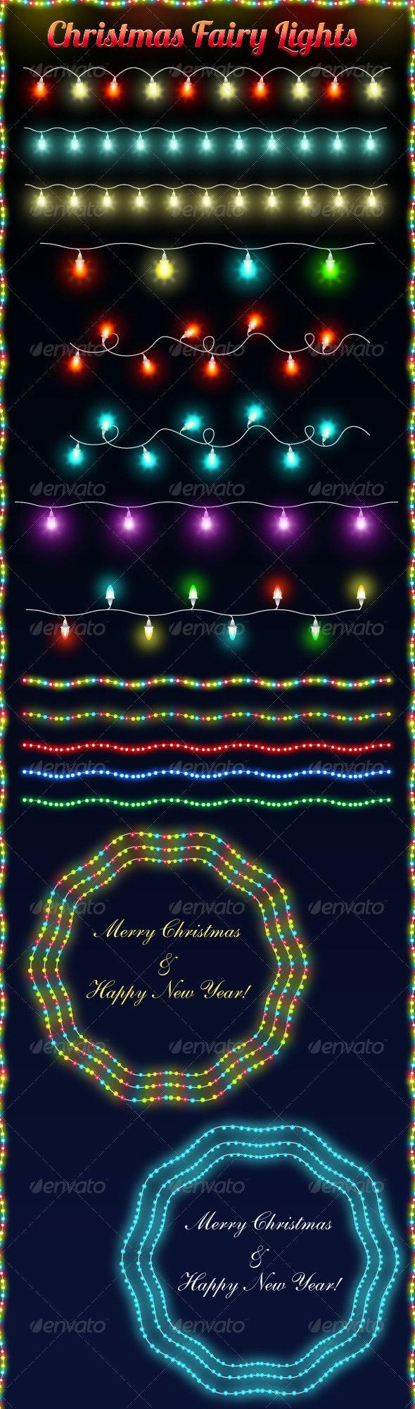 Christmas Fairy Lights - Seasons/Holidays Conceptual