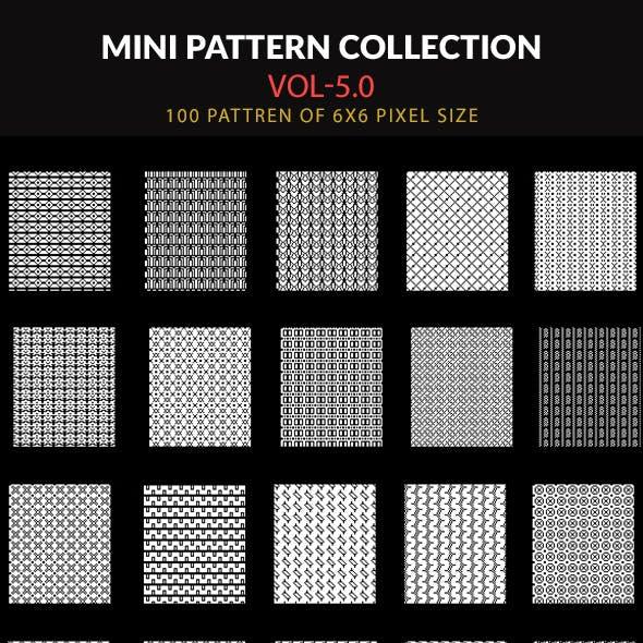 100 Mini Pattern Collection Vol- 5.0
