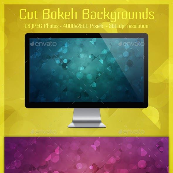 Cut Bokeh Backgrounds