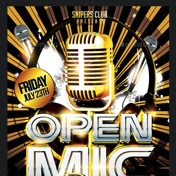 Open Mic Party