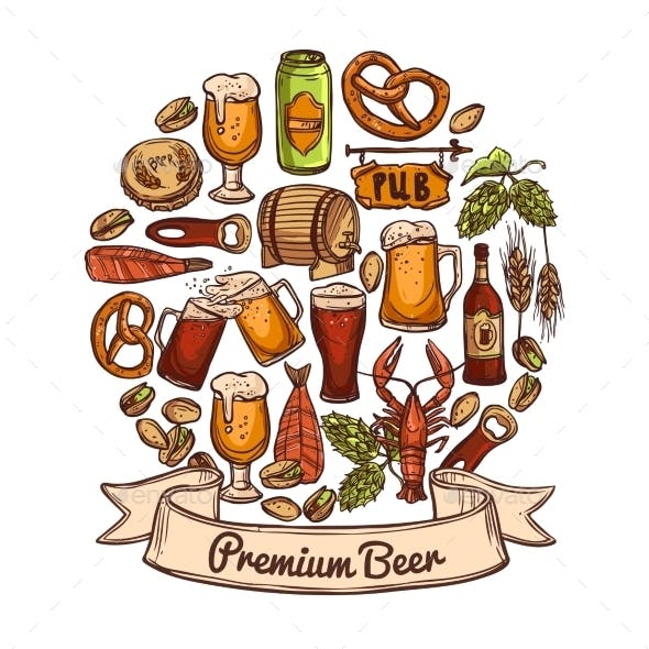 Premium Beer Concept