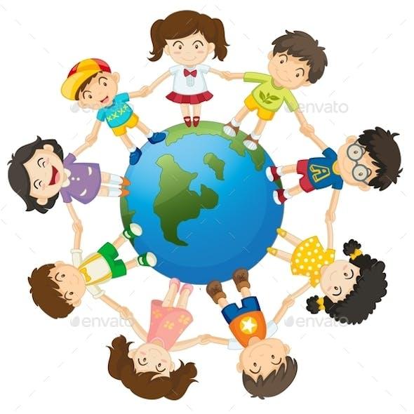 Kids on the World