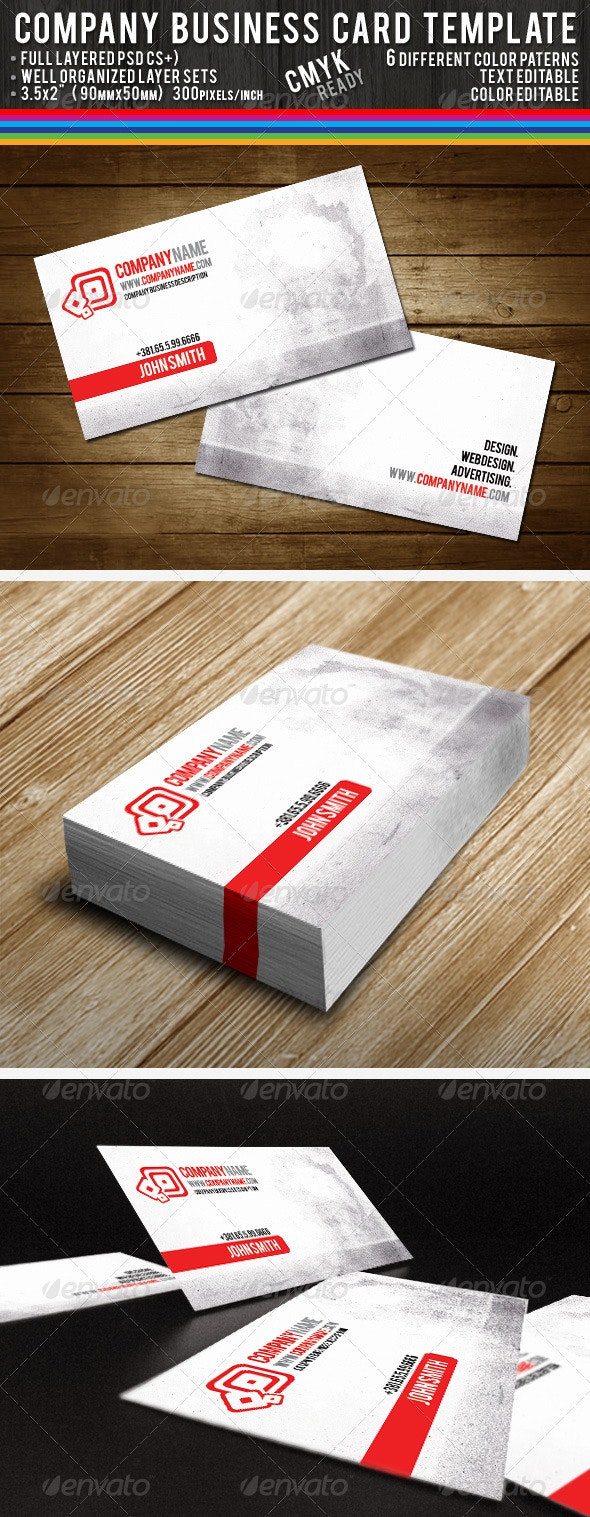 Company Business Cards - Corporate Business Cards