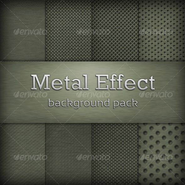 Metal Effect Background Pack