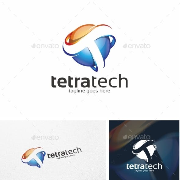 Tetratech / T Letter - Logo Template