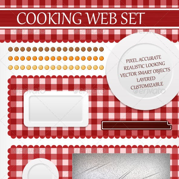 Cooking Web Elements