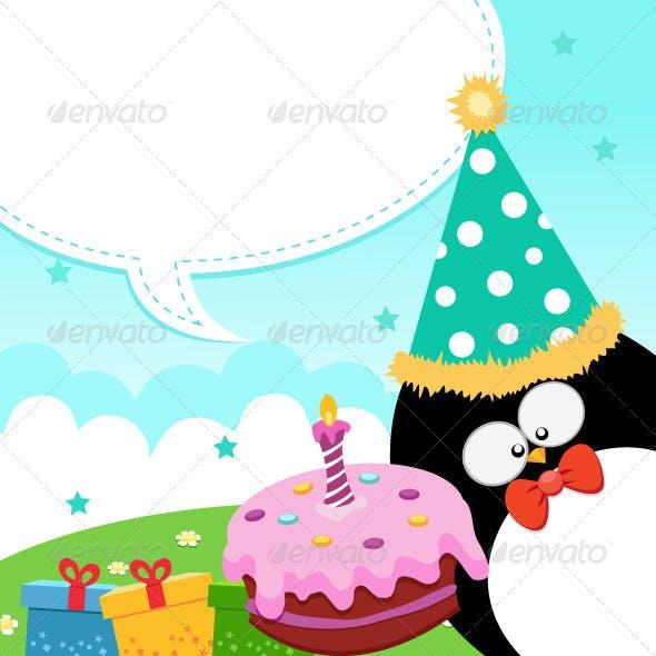 Penguin's Birthday Message