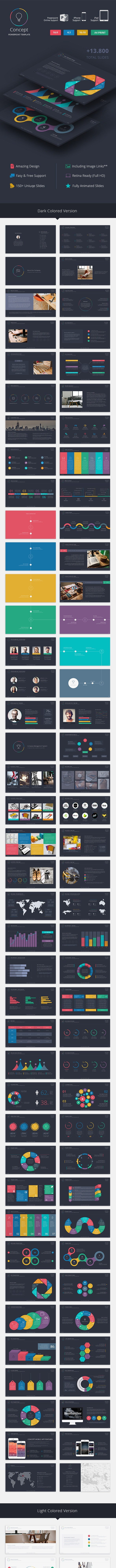 Concept Powerpoint Template - Creative PowerPoint Templates