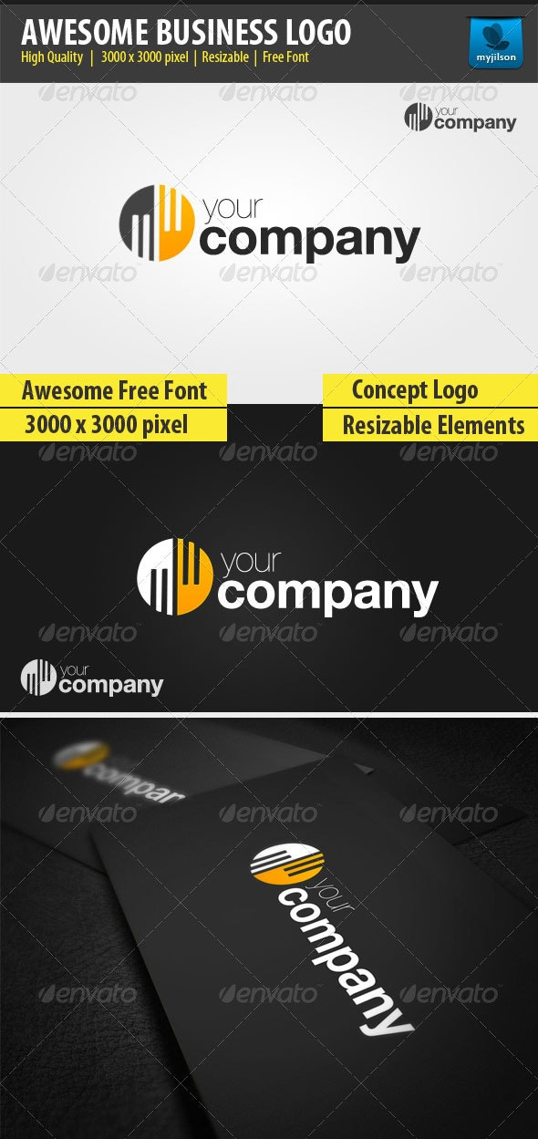 Awesome Business Logo - Symbols Logo Templates
