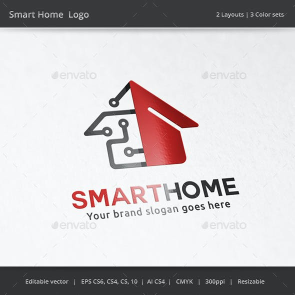 Smart Tech Home Logo