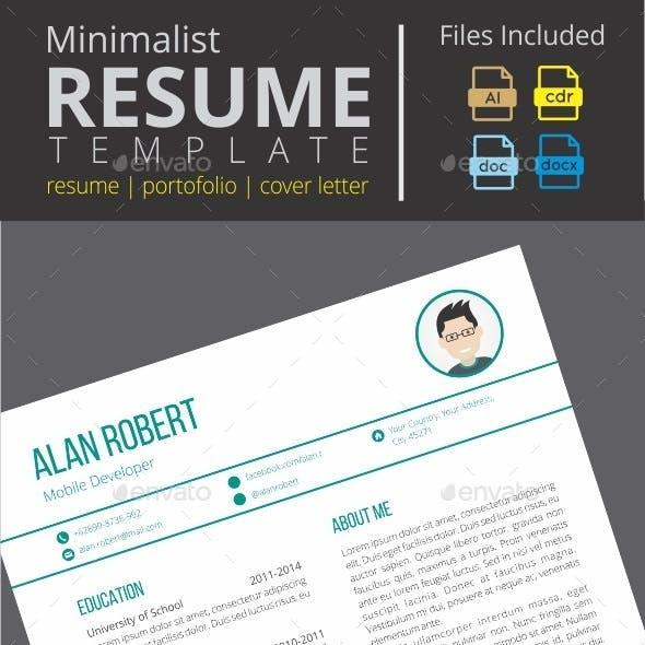 Minimalist Clean Resume