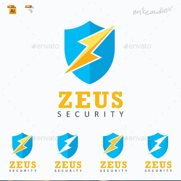 Zeus Security Logo Template