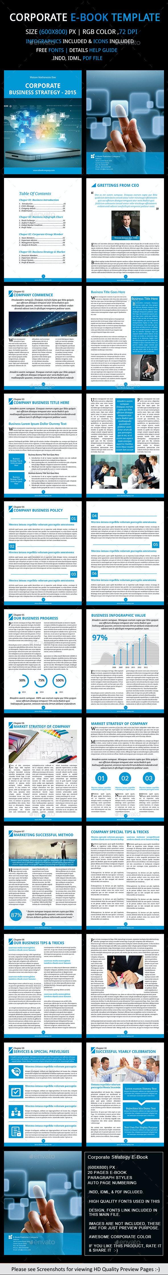 Corporate Strategy e(Book) Template - Digital Books ePublishing
