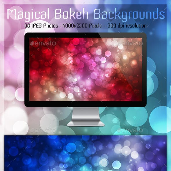 Magical Bokeh Backgrounds