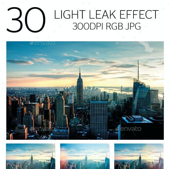 Light Leak Effect
