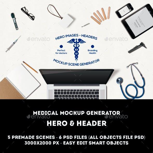 Medical Mockup Generator