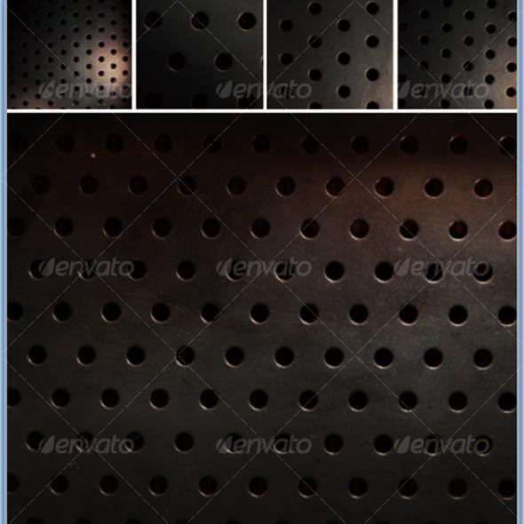 Industrial Metal Pattern Textures