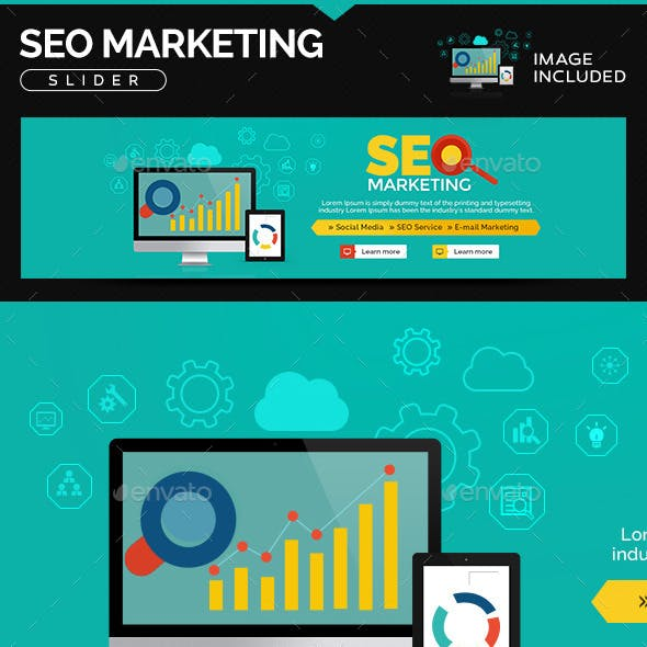 SEO Marketing Slider