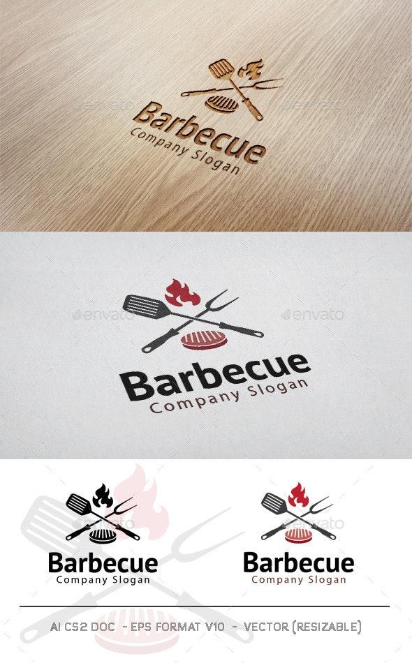 Barbecue Logo - Food Logo Templates
