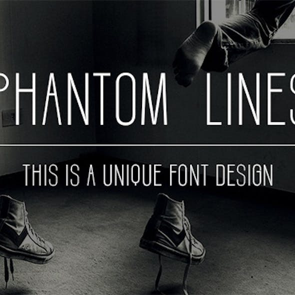 Fonts-Phantom lines