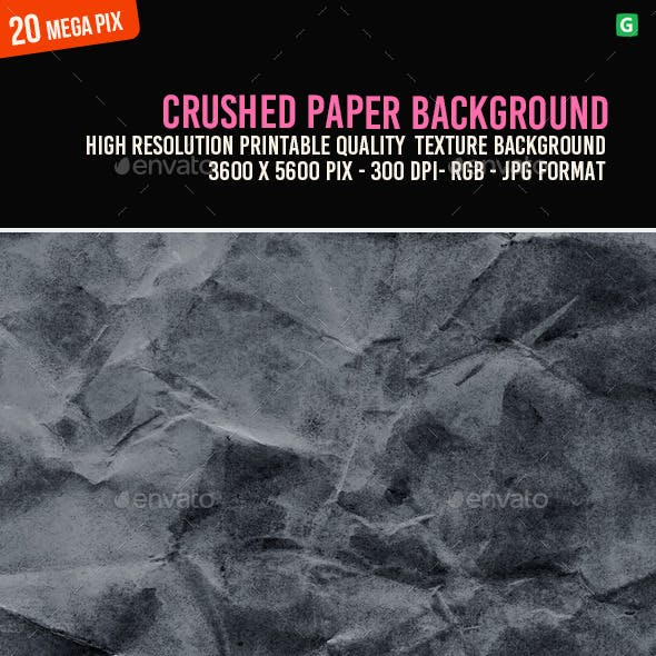 Crushed Paper Background 084
