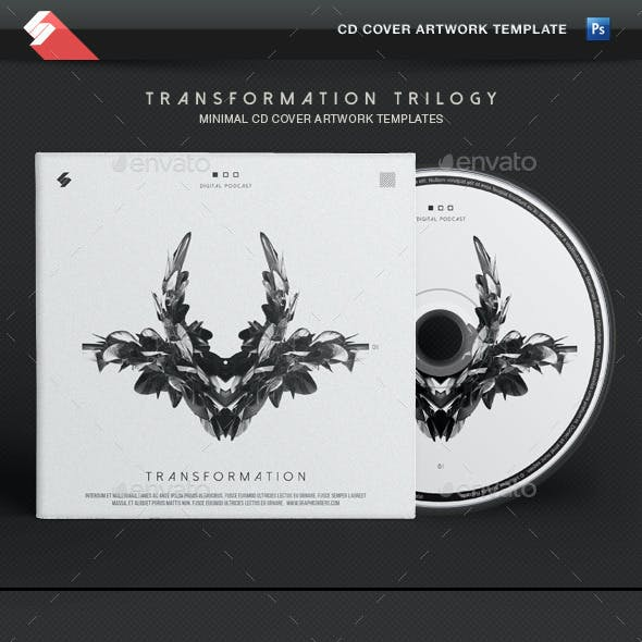 Transformation Trilogy - CD Cover Artwork Template