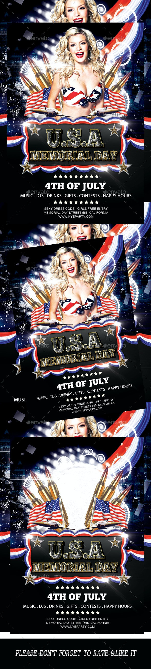 4th Of July Flyer Template 2 - Events Flyers