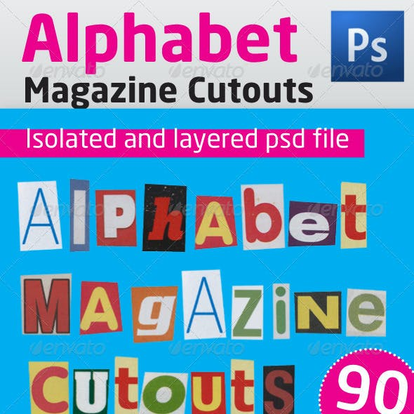 Alphabet Magazine Cutouts