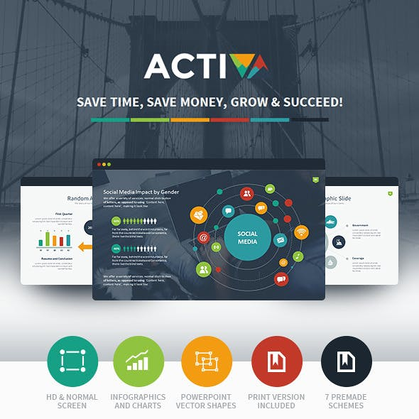 Activa Powerpoint Presentation Template