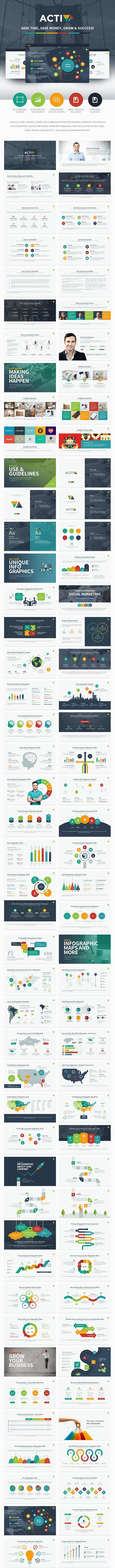 Activa Powerpoint Presentation Template - Creative PowerPoint Templates