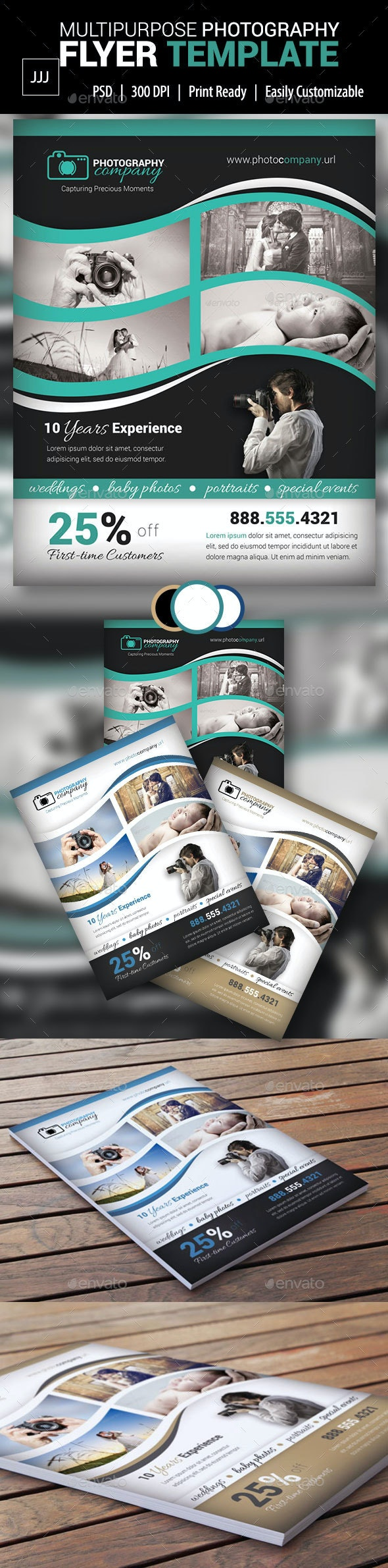 Photography Business Flyer 18 - Corporate Flyers