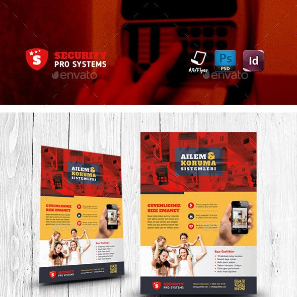 Security Systems Flyer Templates
