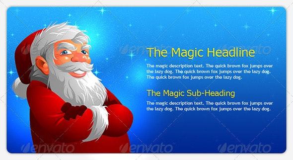 cool santa - Characters Illustrations