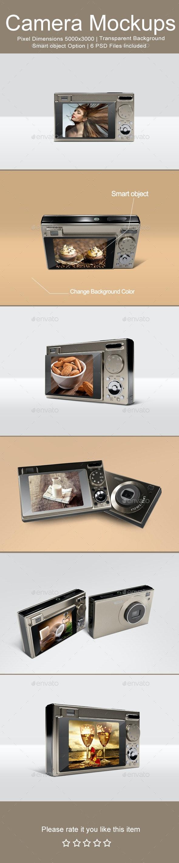 Camera Mock-ups - Miscellaneous Displays