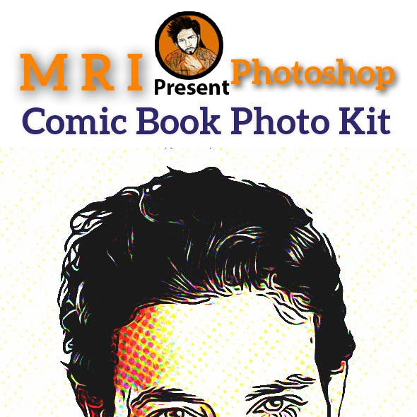 Comic Book Photo Kit