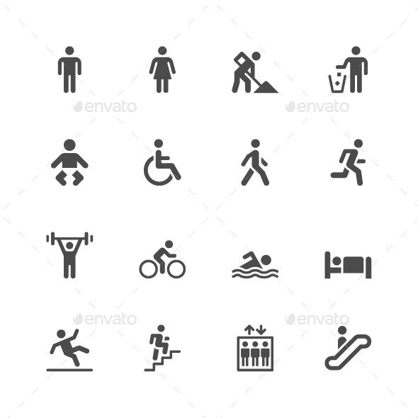 People Icons - Icons