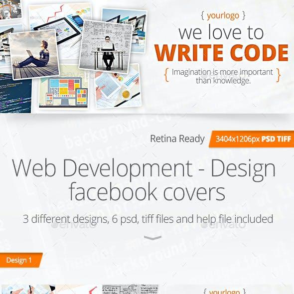 Web Development - Design Facebook Covers