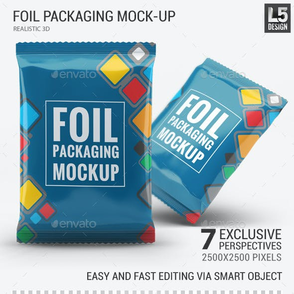 Foil Packaging Mock-Up