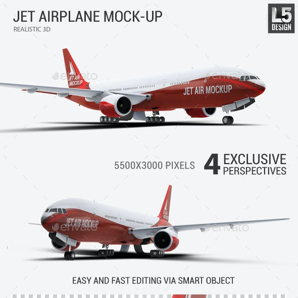 Jet Airplane Mock-Up