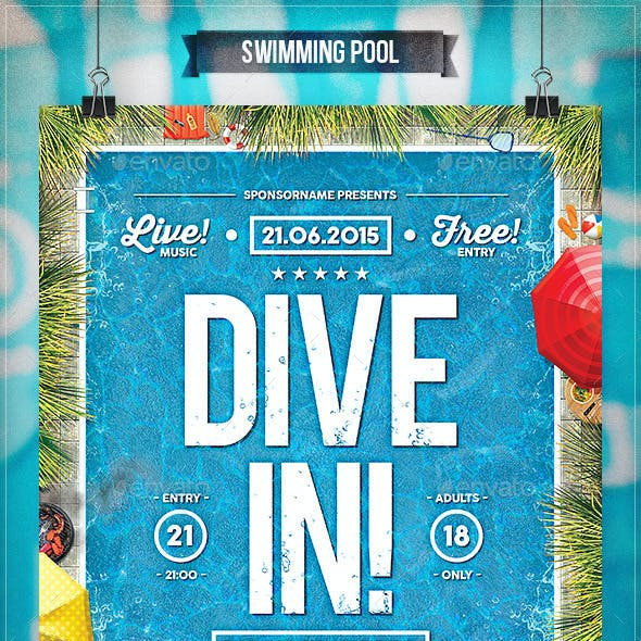 Swimming Pool - Flyer & Poster