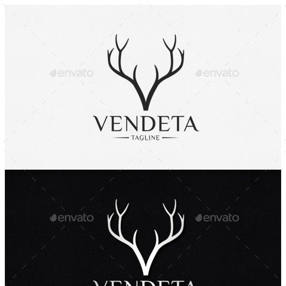 Vendeta - Letter V Logo Template