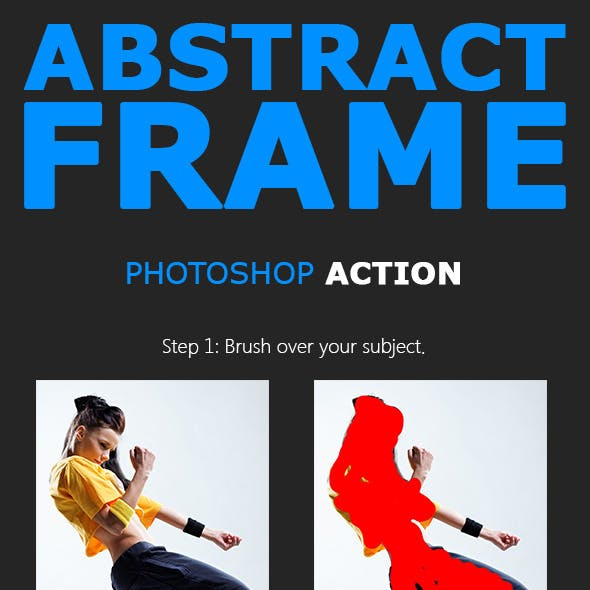 Abstract Frame Photoshop Action