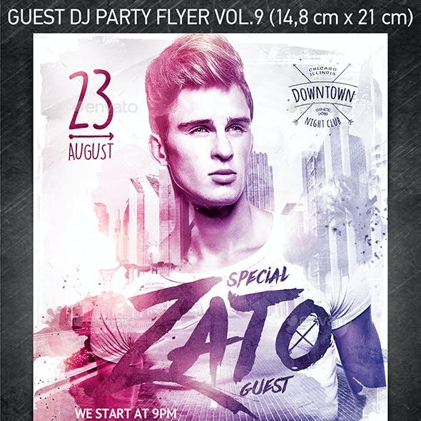 Guest DJ Party Flyer vol.9