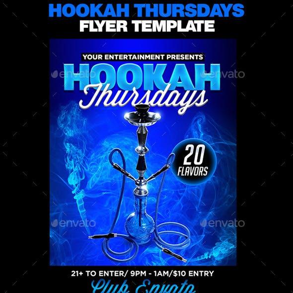 Hookah Thursdays Flyer Template