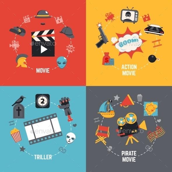 Film Design Concept - Backgrounds Decorative